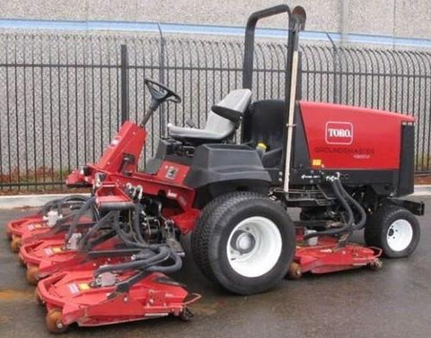 Toro Groundsmaster 4500-D (Models 30873 and 30881), 4700-D (Models 30874 and 30882) Service Repair Workshop Manual DOWNLOAD