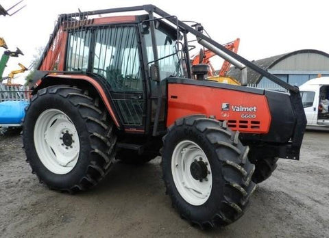 Valtra 6600 Tractor Full Workshop Service Repair Manual