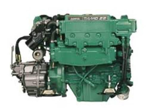 VOLVO PENTA TMD22 TAMD22 MD22 Marine Engines Workshop Manual