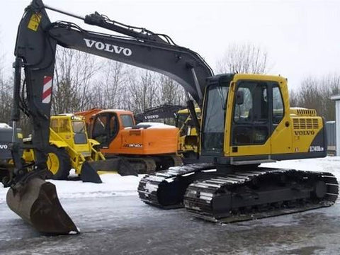 Volvo Ec140b Lcm Excavator Full Service Manual Pdf Download