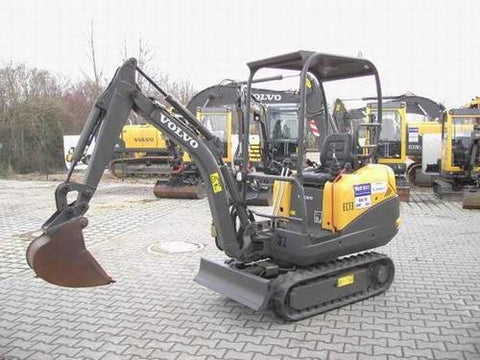 Volvo Ec13 Xr Compact Excavator Service Repair Manual Pdf Download