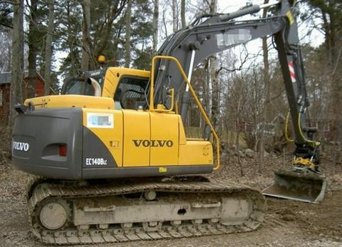 Volvo Ec140b Lc Excavator Workshop Service Manual Pdf Download