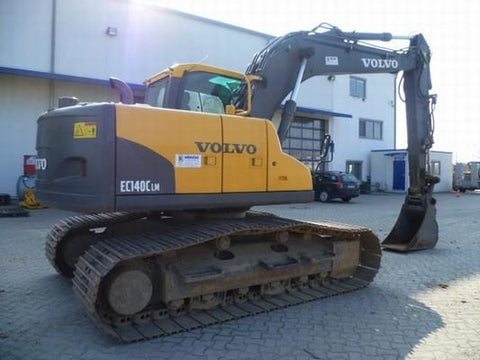 Volvo Ec160b Lc Excavator Full Service Repair Manual Pdf Download