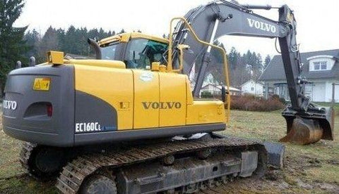 Volvo Ec160c Nl Excavator Full Service Repair Manual Pdf Download