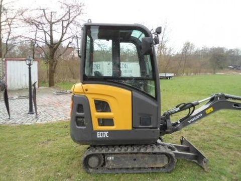 Volvo Ec17c Compact Excavator Workshop Service Repair Manual Pdf Download
