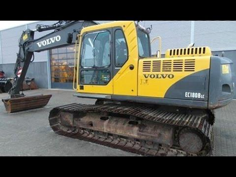Volvo Ec180b Lc Excavator Service Repair Manual Pdf Download