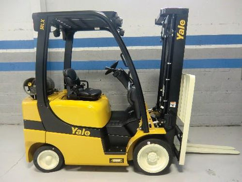 Yale Fork lift model GLCO4ABLAE083 Type LP Serial N405812 Workshop Service Repair Manual