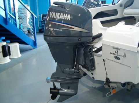 Yamaha F300CA outboard service repair manual. PID Range 6CE-1000001~Current 4.2L Mfg April 2010 and newer