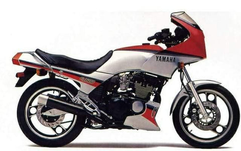 1988 Yamaha FJ600 XJ600 Workshop Repair Service Manual PDF Download