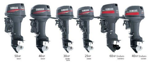 Yamaha Marine Outboard 40T, 50T, 40V, 50H Service Repair Manual Download