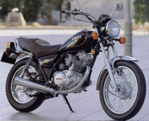 1983 Yamaha SR250 Yamaha SR250G Repair Service Manual PDF Download