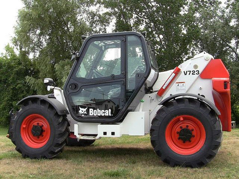 Bobcat V723 Telehandler Workshop Service Repair Manual S/N A8HL, A8HP, A8HK
