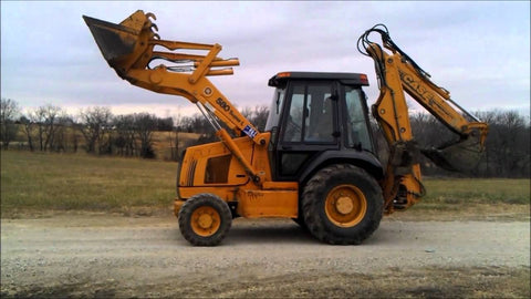 Case L Series Loader Backhoe Operators Manual Download