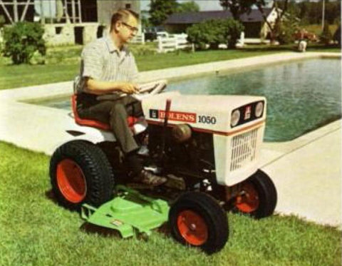 Bolens 1050 Lawn Tractor Parts Catalogue Manual