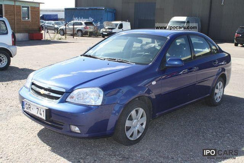 2006 Chevrolet Lacetti SX 346 User's Manual Download