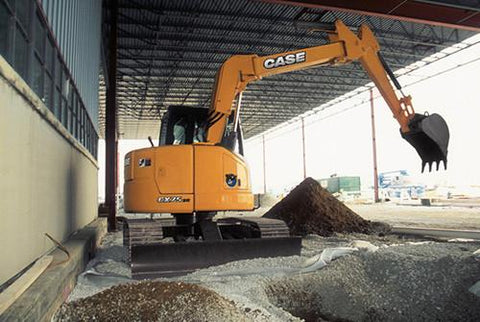 CASE CX75SR Monobloc Boom Workshop Repair Service Manual