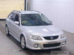 2000 Mazda Familia S-Wagon GF-BJFW Workshop Service Repair Manual