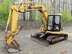 Caterpillar Cat 308B SR Mini Excavator Part's Manual Download S/No : 3YS