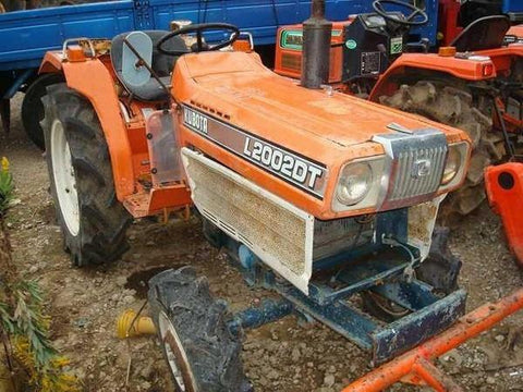 Kubota L2002DT Tractor Operation Manual Download