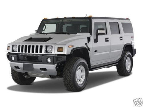 2003-2007 HUMMER H2 SERVICE REPAIR SHOP MANUAL DOWNLOAD