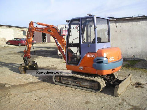 1995  Hitachi mini Digger EX35 Workshop Service Repair Manual
