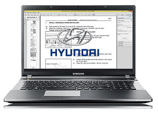2001 Hyundai Trajet Workshop Repair Service Manual PDF Download