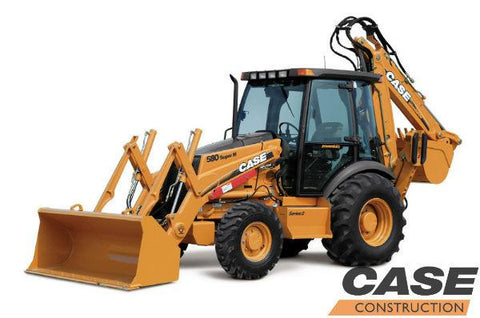 Case 580SM SERIES 2 Backhoe Loader Service REPAIR Manual