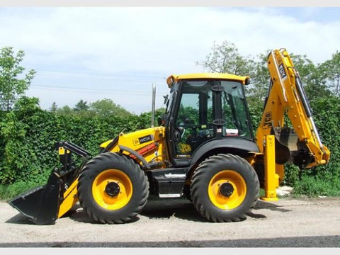 JCB 4CX Backhoe Loader Part's Catalogue Manual Downlaod