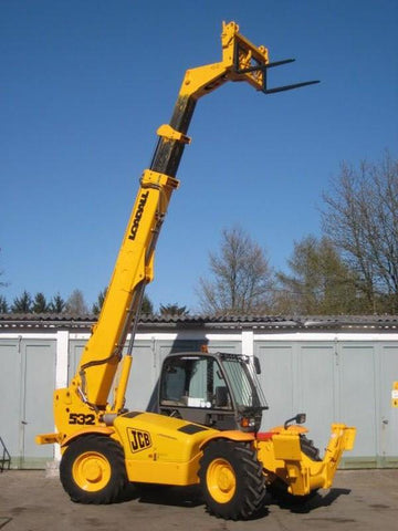 1997 JCB 532-120 TELEHANDLER WORKSHOP SERVICE REPAIR MANUAL