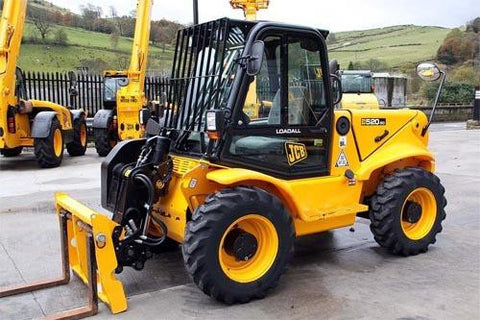 JCB 520-50,520 525-50 525-50S Telescopic Handler Service Repair Workshop Manual DOWNLOAD