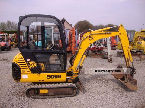2000 JCB 8016 Mini Excavator Workshop Service Manual