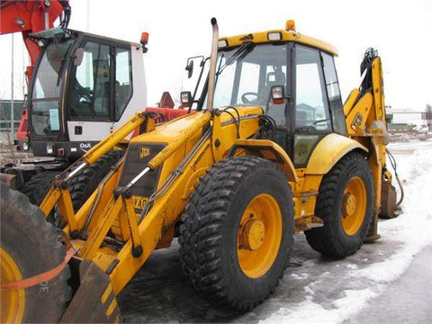 2001 JCB 4CX Backhoe Loader Workshop Service Repair Manual S/No : 0498161