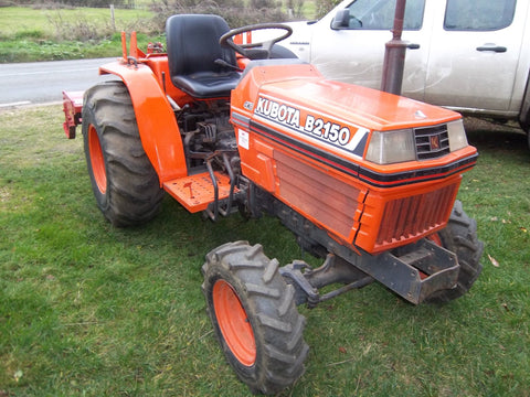 Kubota B2150hsd Tractor Illustrated Master Parts List Manual
