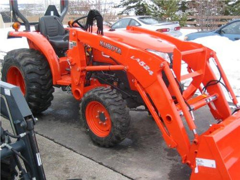 Kubota LA524 Loader Workshop Service Manual Pdf