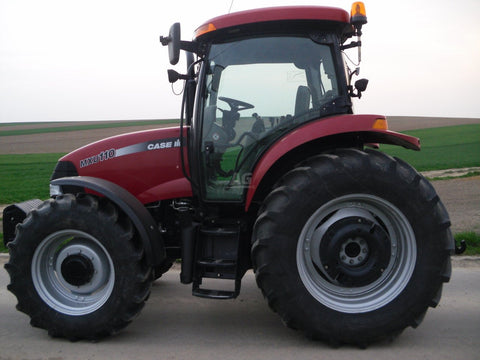 case ih mxu series 100 110 125 135 115 workshop service repair