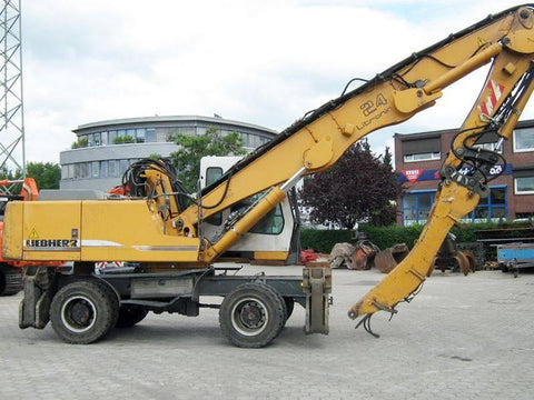 Liebherr A924B Litronic Wheeled Industrial Handler Service Repair Manual Download PDF