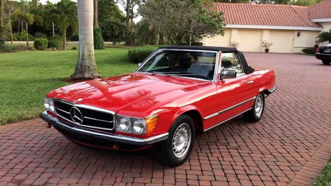 1982 Mercedes-Benz 280 SL Workshop Service Repair Manual