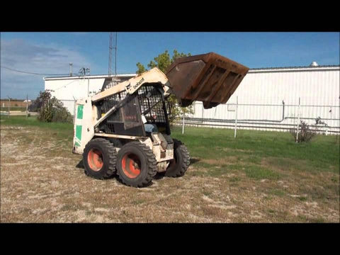 Bobcat Skid Steer 642B 1986 Parts Service Repair Manual