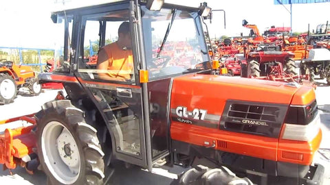 Kubota Tractor GL-27 Operation Manual Download