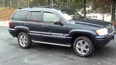 2004 Jeep Grand Cherokee WJ Workshop Service Repair Manual