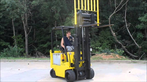 Hyster E40XL, E50XL, E55XL, E60XL Forklift Workshop Service Repair Manual