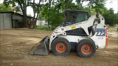 Bobcat 773 Turbo 2001 S. no. 519012877 Operator's Owner's Manual