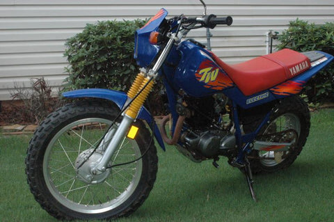 1993 Yamaha TW200 Workshop Repair Service Manual PDF Download