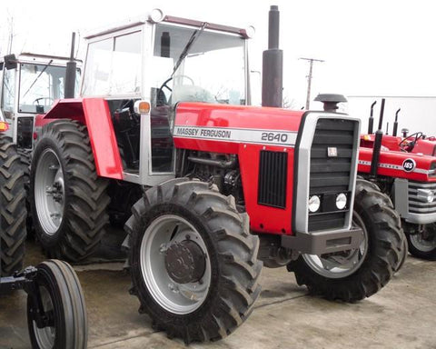 MASSEY FERGUSON MF 2640 TRACTOR PARTS MANUAL