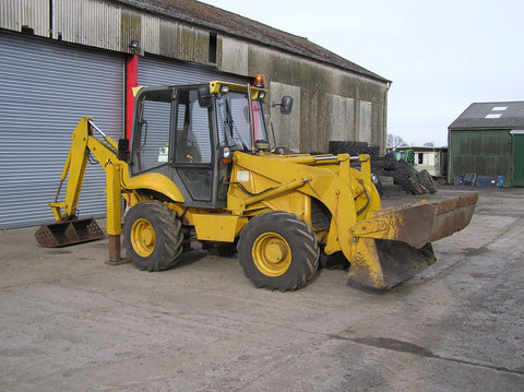 1994 JCB 2CX Streetmaster Appraisal Backhoe loader Workshop Service Manual S/No : 0658848