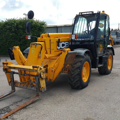 2007 JCB 535-125 TELEHANDLER PART LIST MANUAL