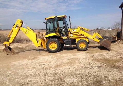 2004 JCB 214 Backhoe  Workshop Service Repair Manual