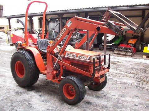 Kubota B1550E Tractor Illustrated Master Parts List Manual DOWNLOAD
