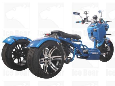 IceBear MINI CRUZZER (PST50-9) 50cc Trike Gas Street Legal Scooter