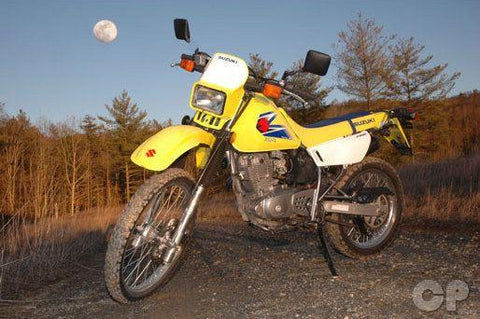 1996-2009 Suzuki DR200SE 4-Stroke Motorcycle Repair Manual